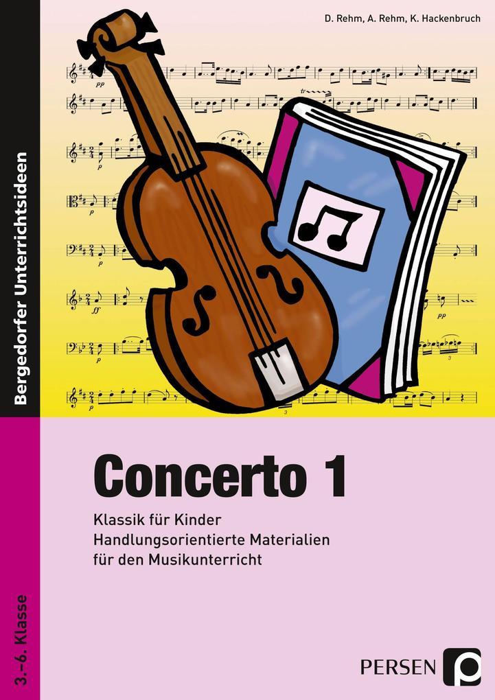 Concerto 1. Klassik für Kinder als Buch