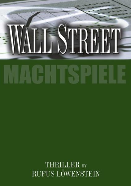 WALL STREET als Buch