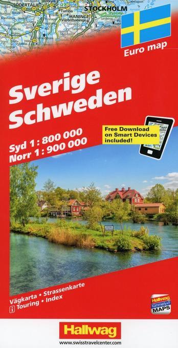 Sverige - Schweden als Buch