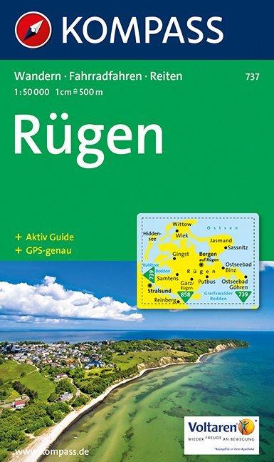 Insel Rügen 1 : 50 000 als Buch