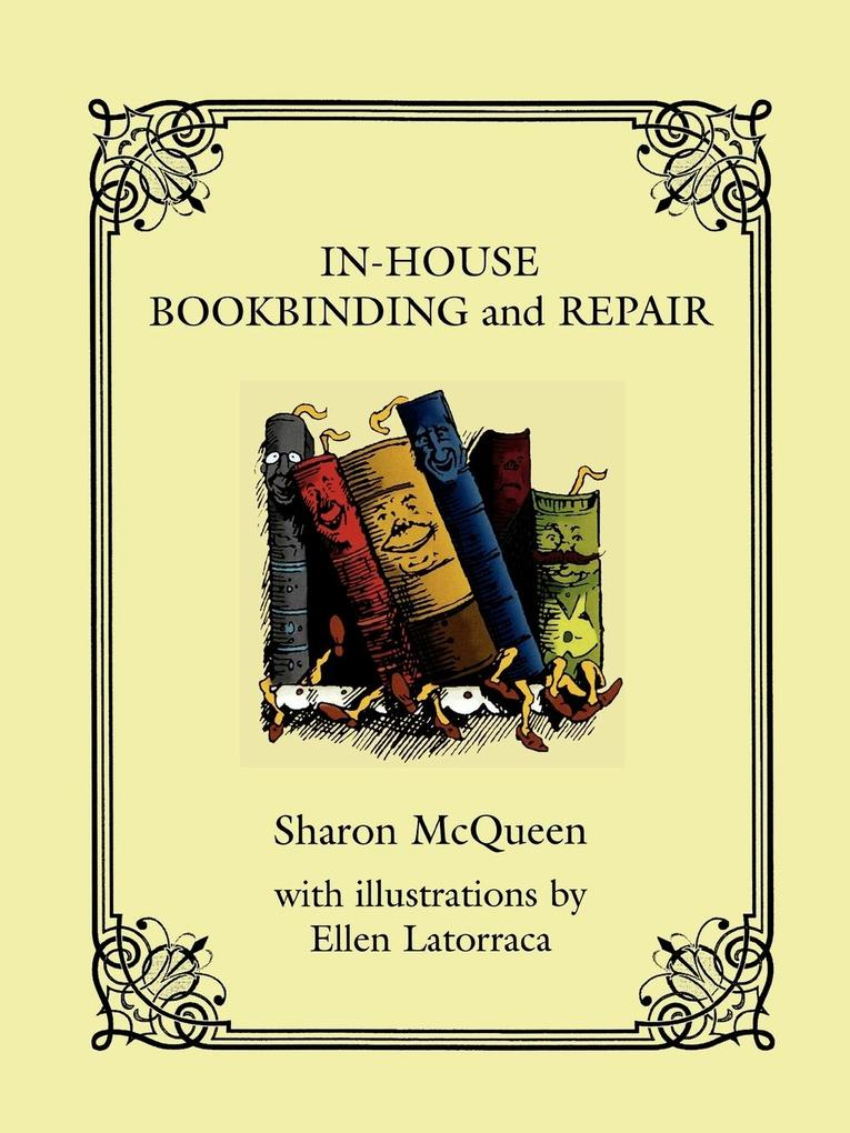 In-House Book Binding and Repair als Taschenbuch