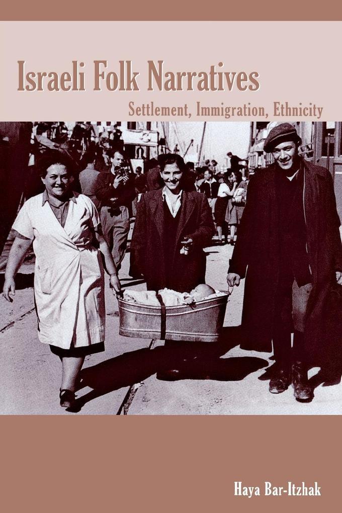 Israeli Folk Narratives als Taschenbuch
