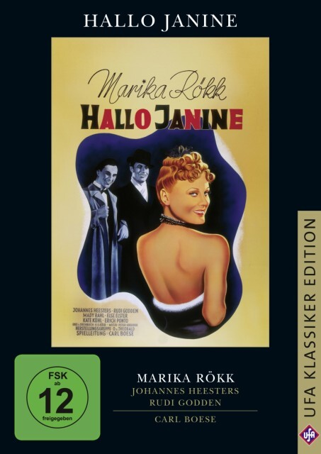 Hallo Janine als DVD