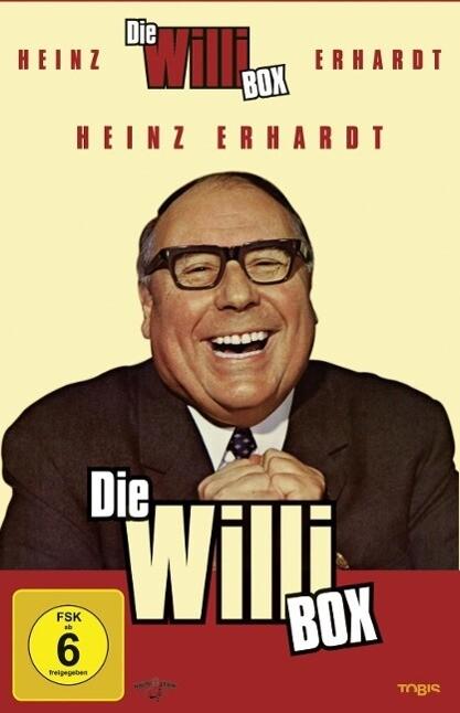 Heinz Erhardt - Die Willi Box als DVD