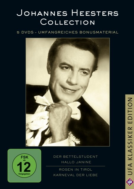 Johannes Heesters Collection als DVD
