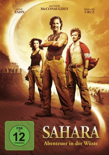 Sahara als DVD
