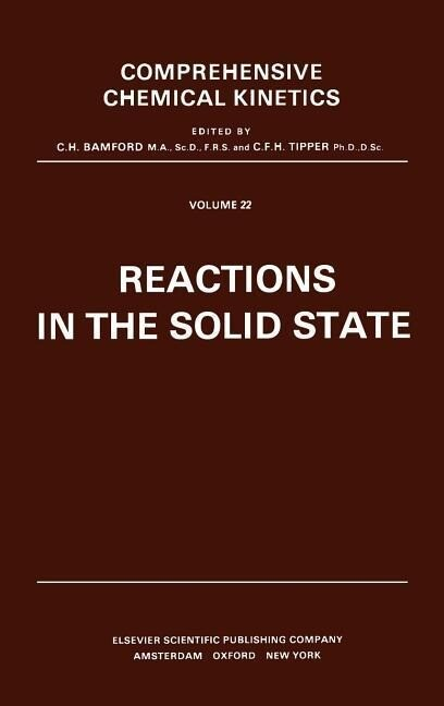 Reactions in the Solid State als Buch