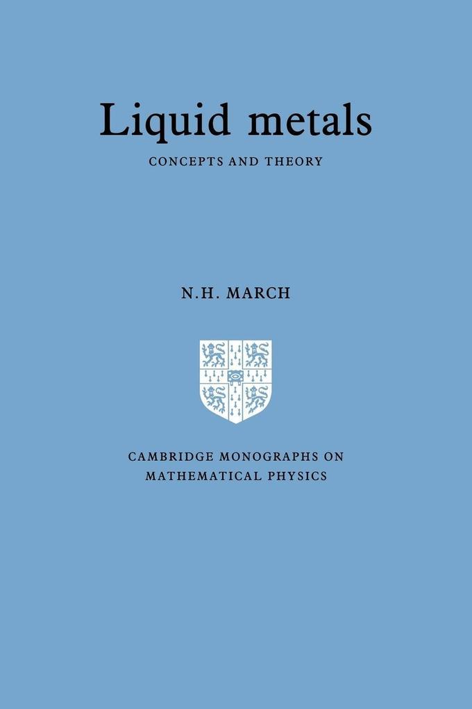 Liquid Metals als Taschenbuch