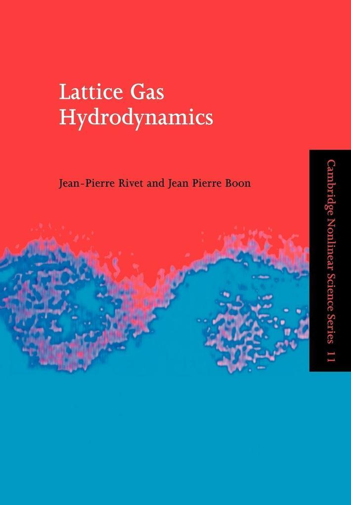 Lattice Gas Hydrodynamics als Buch