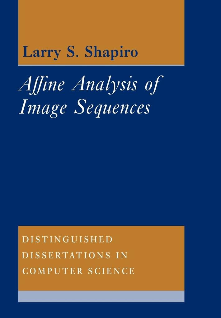 Affine Analysis of Image Sequences als Buch