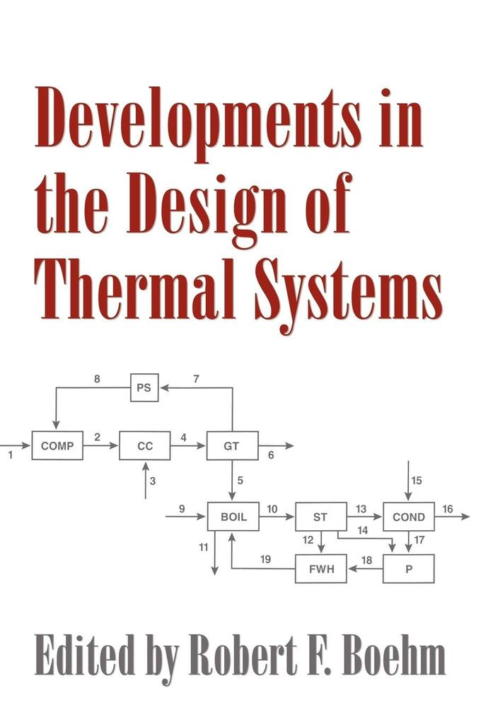 Developments in the Design of Thermal Systems als Buch