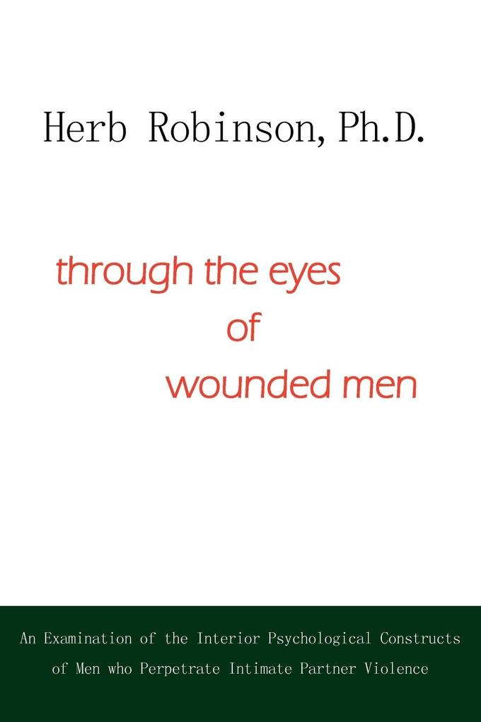 through the eyes of wounded men als Taschenbuch