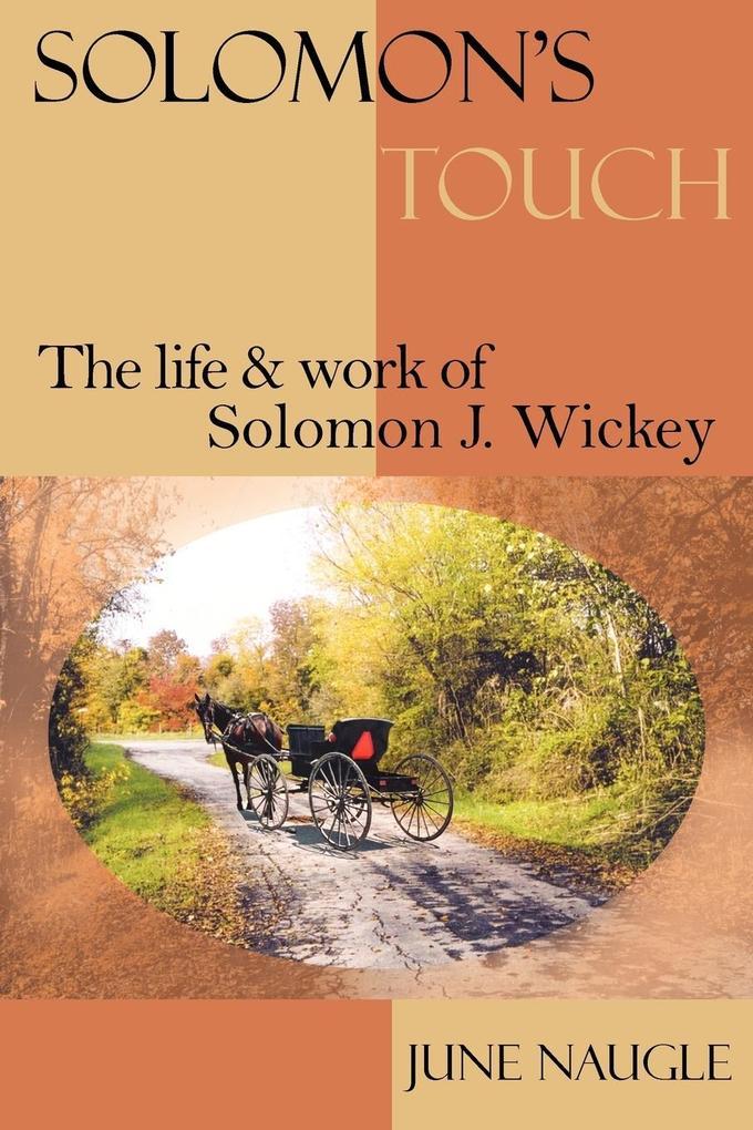 SOLOMON'S TOUCH als Taschenbuch