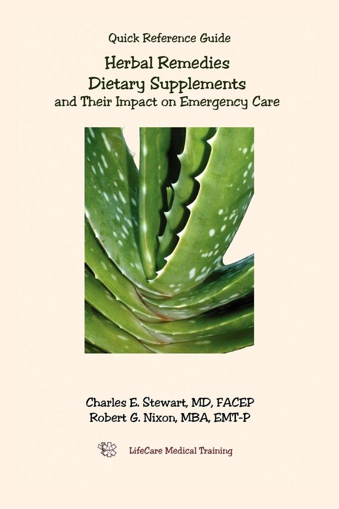 Herbal Remedies, Dietary Supplements, and Their Impact on Emergency Care als Taschenbuch