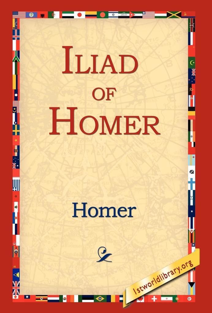 Iliad of Homer als Buch