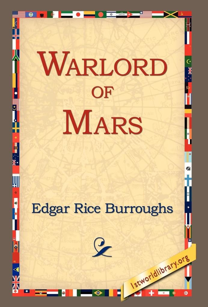 Warlord of Mars als Buch