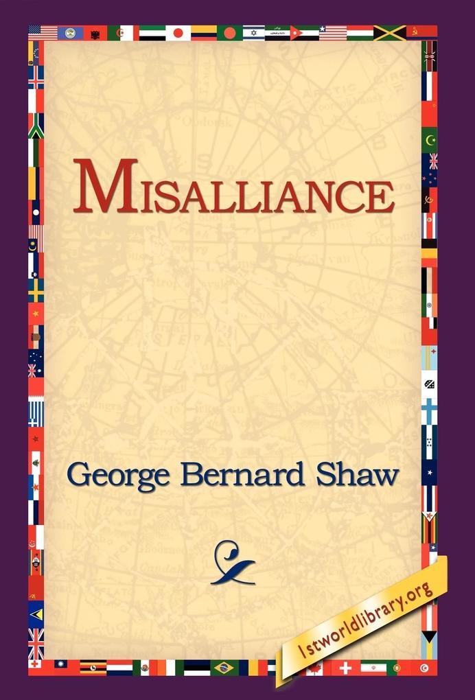 Misalliance als Buch