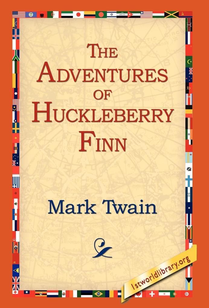 The Adventures of Huckleberry Finn als Buch