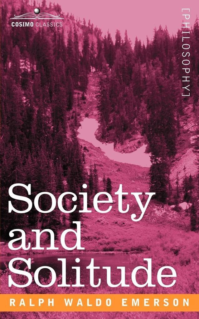 Society and Solitude als Taschenbuch