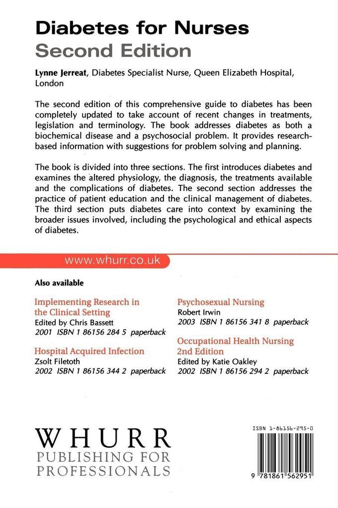 Diabetes for Nurses 2e als Taschenbuch