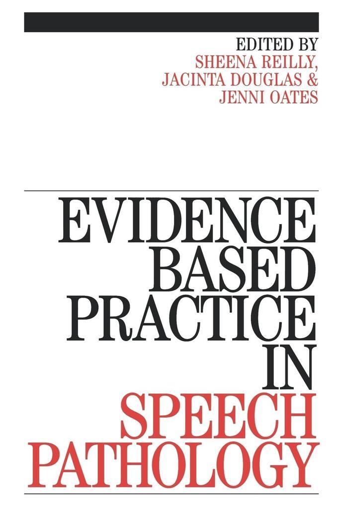 Evidence-Based Practice in Speech als Taschenbuch