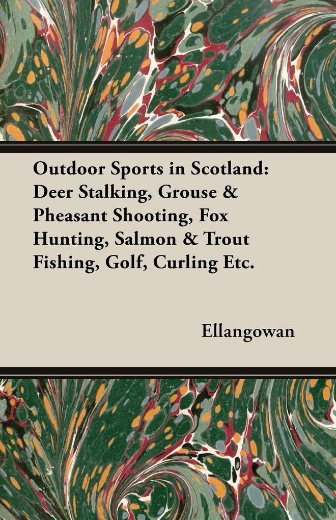 Outdoor Sports in Scotland als Taschenbuch