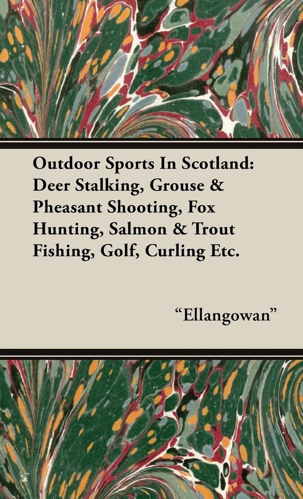 Outdoor Sports in Scotland als Buch