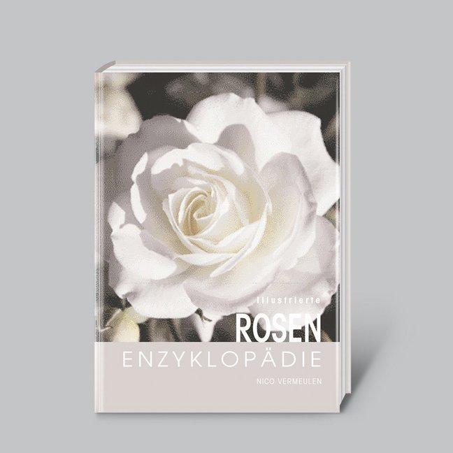 Illustrierte Rosen-Enzyklopädie als Buch