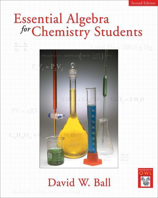 Essential Algebra for Chemistry Students als Buch