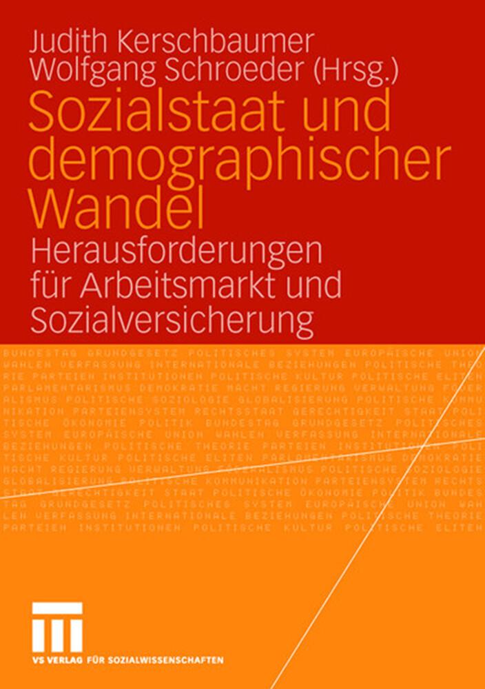 Sozialstaat und demographischer Wandel als Buch