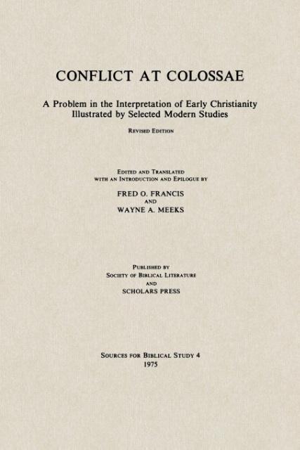 Conflict at Colossae als Taschenbuch