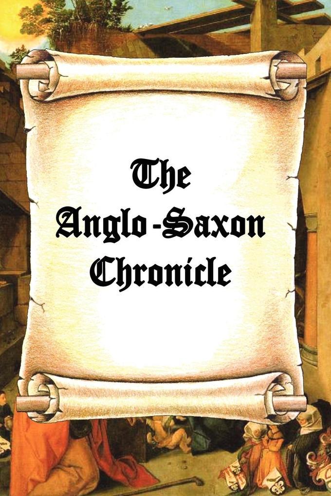 The Anglo-Saxon Chronicle als Taschenbuch