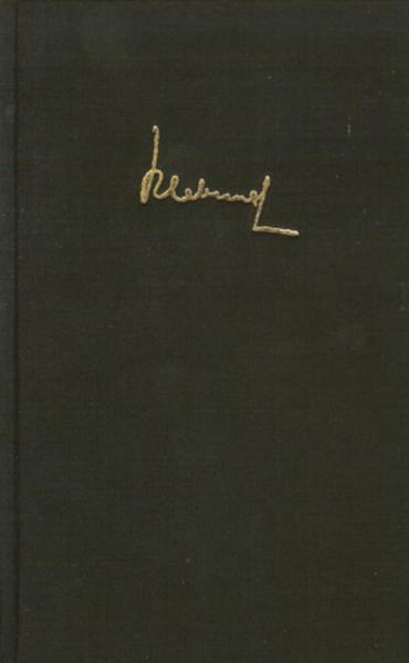 Werke in acht Bänden 4.1/4.2. Gedichte als Buch