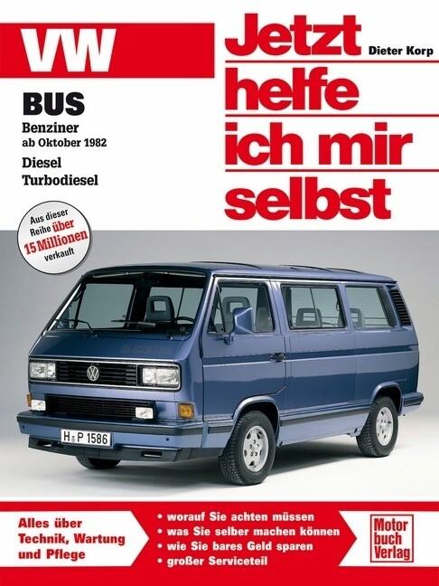 VW Bus T3 als Buch