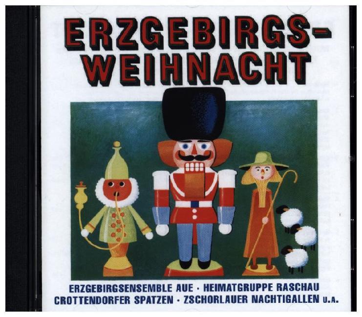 Erzgebirgs-Weihnacht als CD