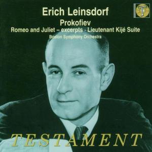 Romeo Und Julia (Ausschn.)/Lieutenant Kije Suite als CD