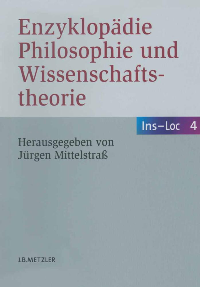 Enzyklopädie Philosophie und Wissenschaftstheorie als Buch