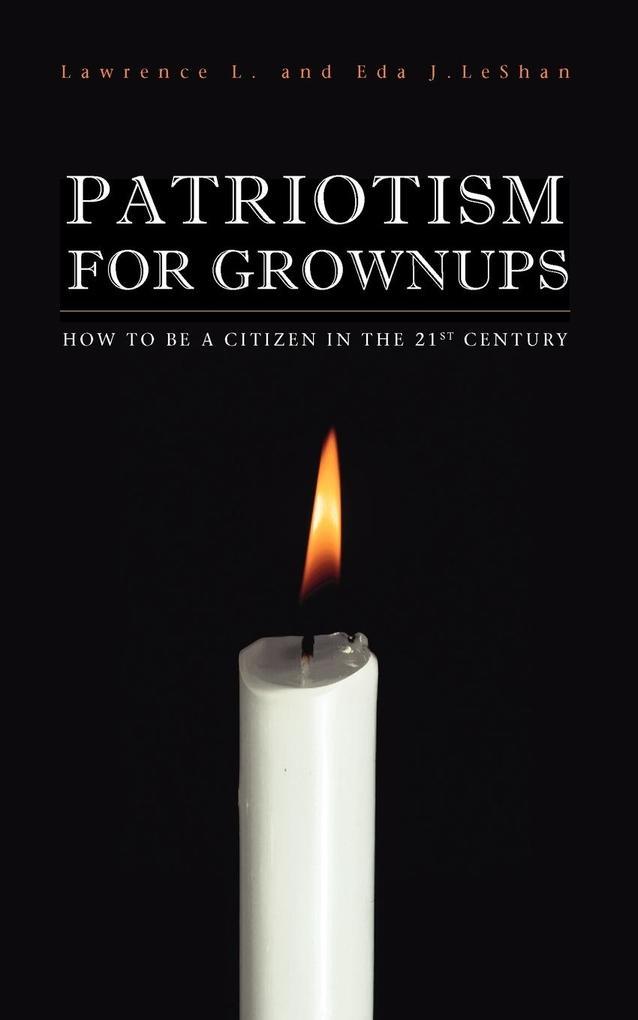 Patriotism for Grownups als Taschenbuch