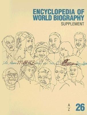 Encyclopedia of World Biograhy: Supplement A-Z als Buch