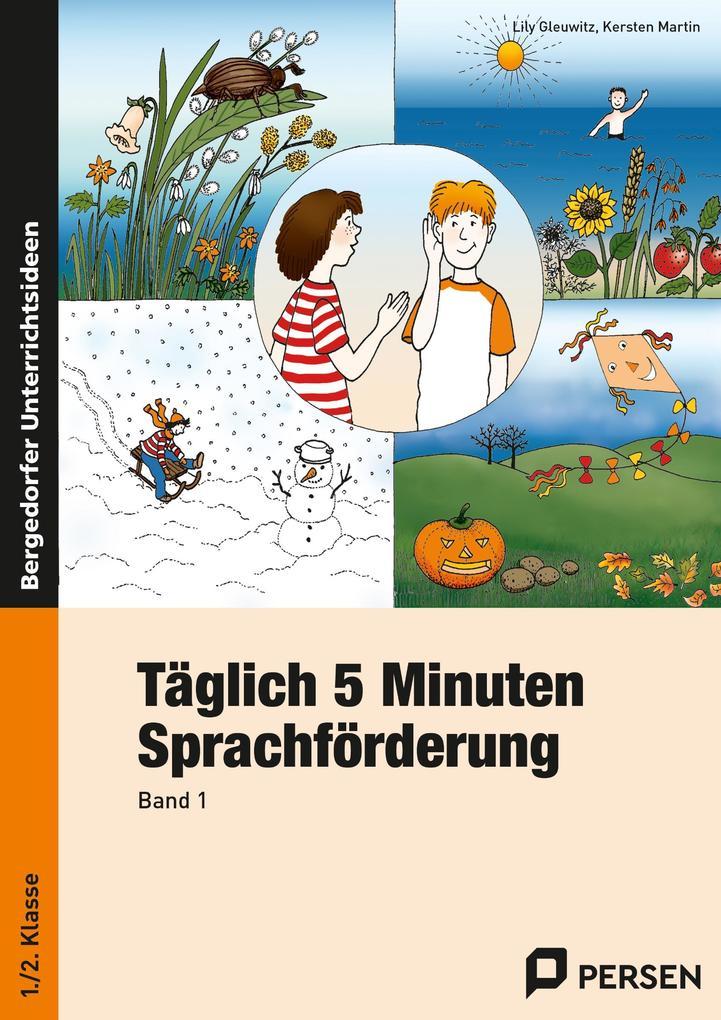 Täglich 5 Minuten Sprachförderung. 1./2. Klasse als Buch