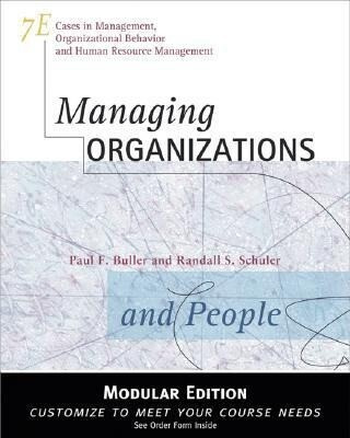 Managing Organizations and People als Buch