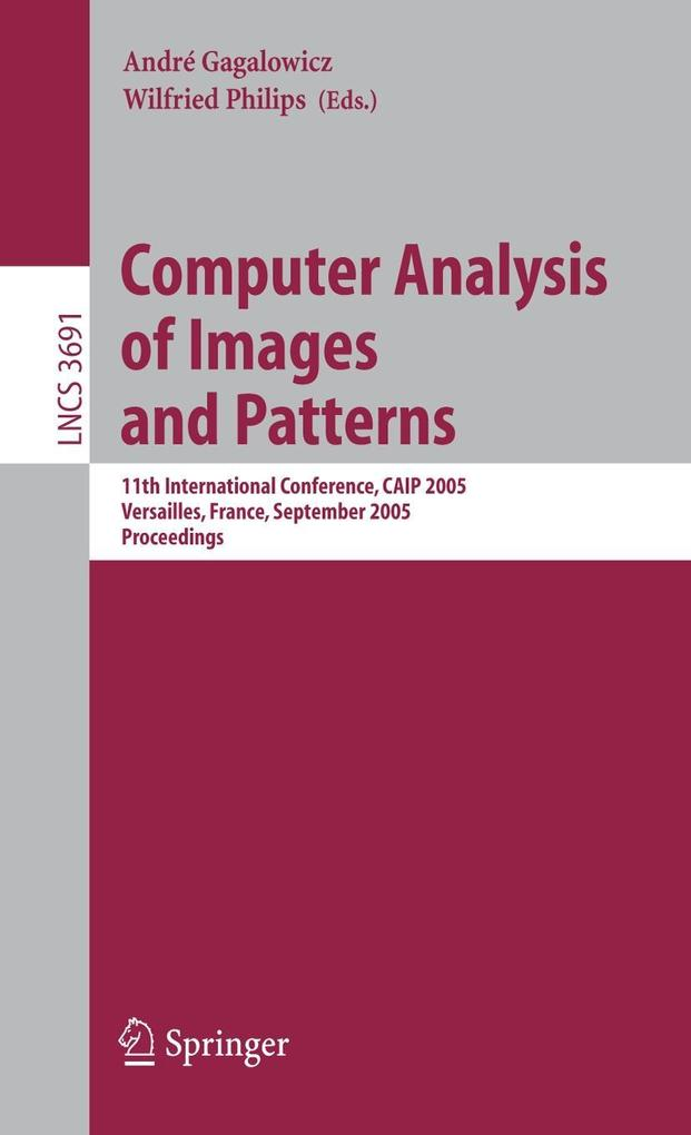 Computer Analysis of Images and Patterns als Buch