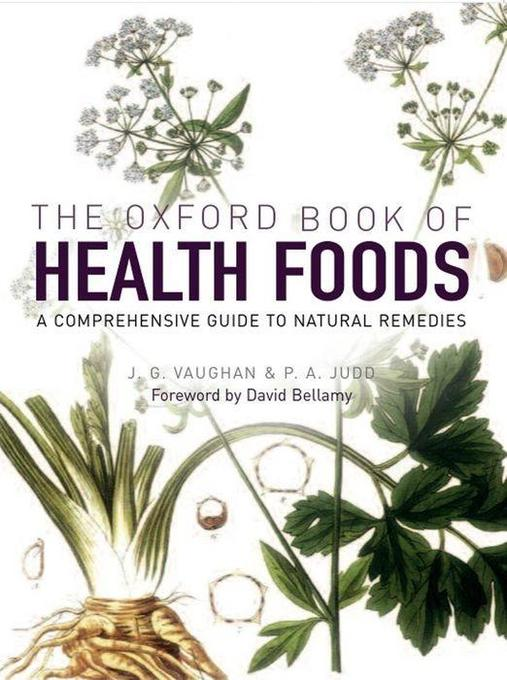 The Oxford Book of Health Foods als Buch