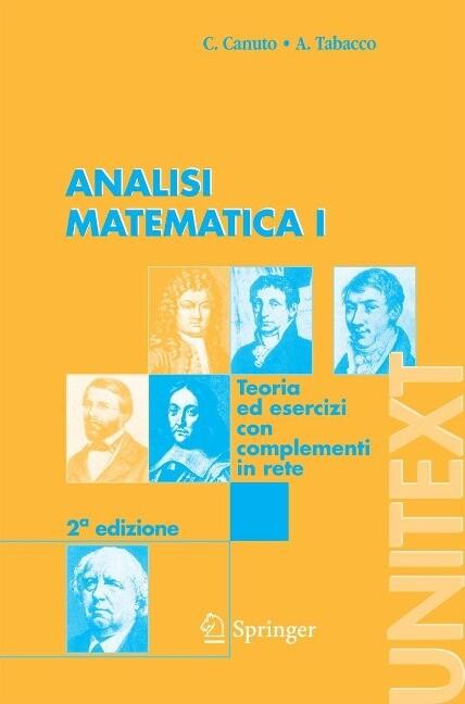 Analisi Matematica I: Teoria Ed Esercizi Con Complementi in Rete als Buch