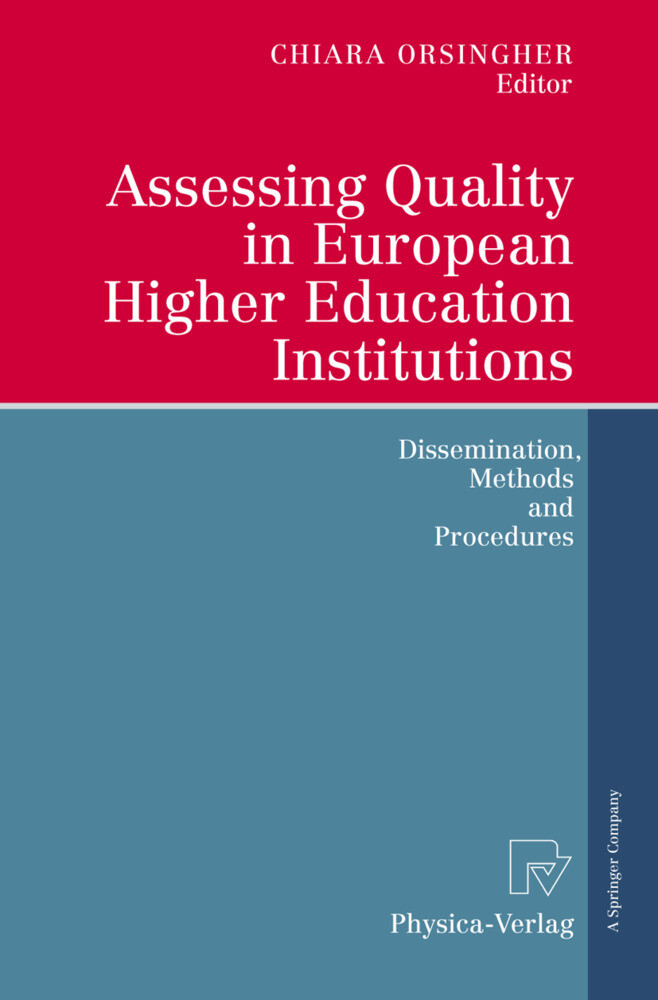 Assessing Quality in European Higher Education Institutions als Buch