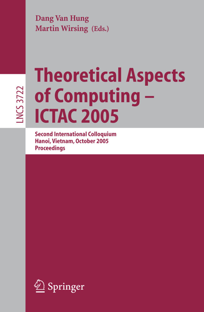 Theoretical Aspects of Computing - ICTAC 2005 als Buch