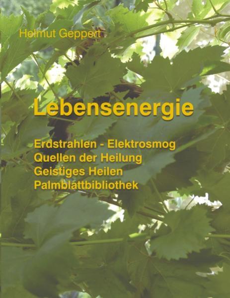 Lebensenergie als Buch von Helmut Geppert