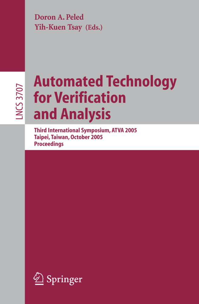 Automated Technology for Verification and Analysis als Buch