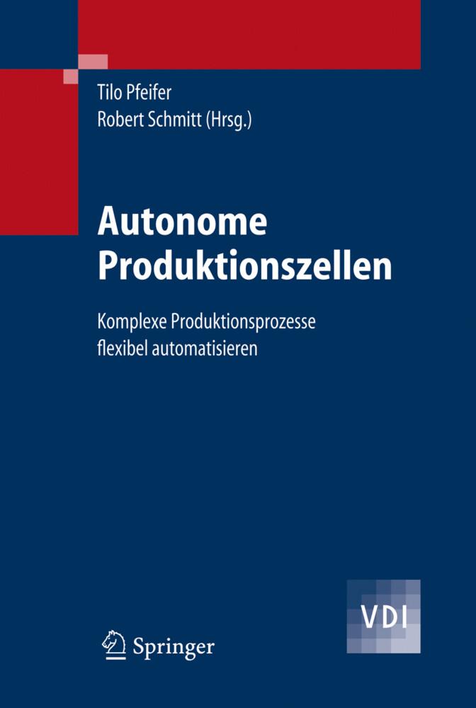 Autonome Produktionszellen als Buch