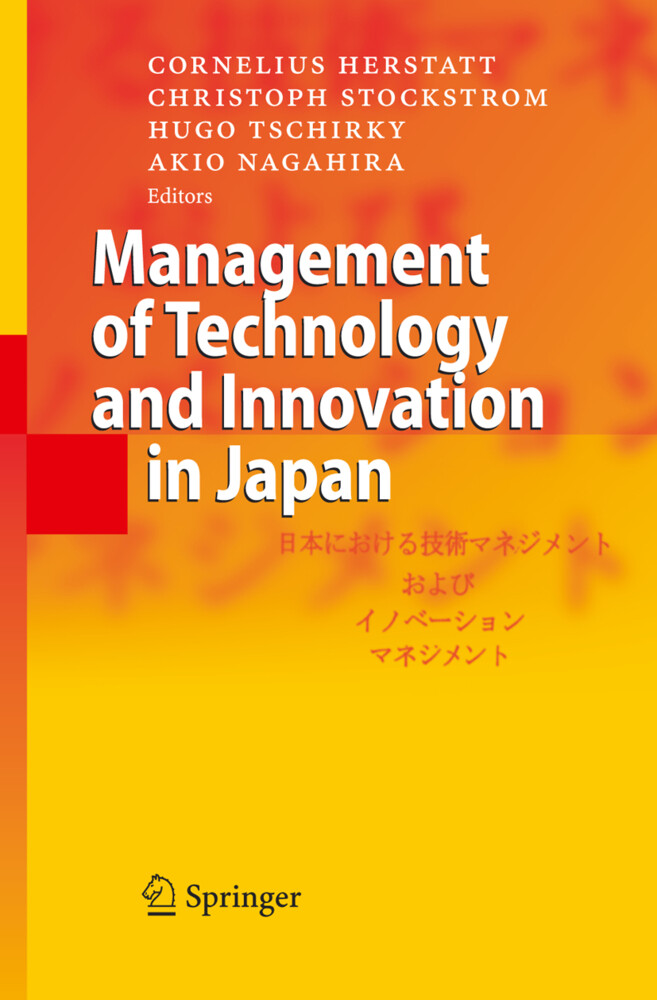 Management of Technology and Innovation in Japan als Buch